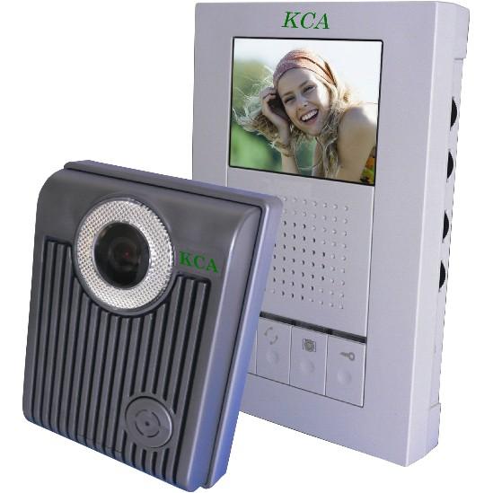 【住家對講機】可擴充式一對一對講機 彩色影視對講機 3.5吋 彩色 影像 對講機 門口機 KCA比俞氏牌更高級更耐用