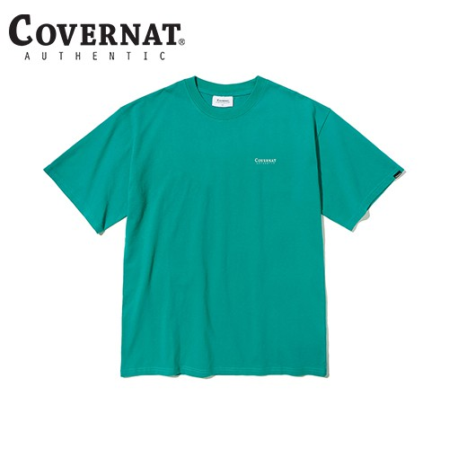 SMALL AUTHENTIC LOGO TEE VINTAGE GREEN