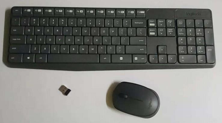 羅技K235無線鍵盤MK235 M170無線滑鼠M170無線接收器