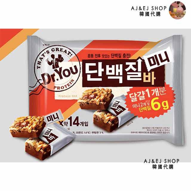【新鮮現貨】EJ♥韓國代購♥韓國熱銷商品 Dr. You 蛋白質低卡能量棒 202.5g  (14入)