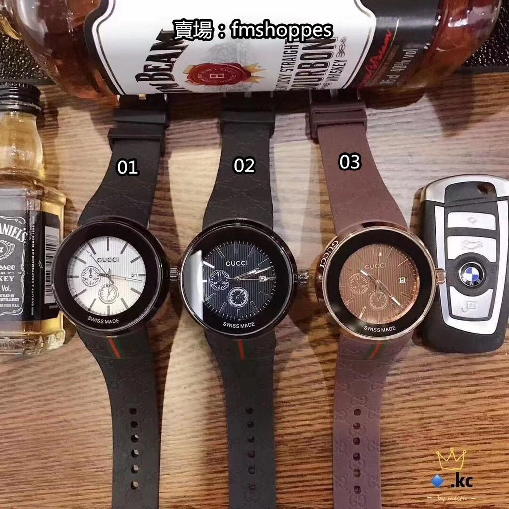 現貨 Gucci/古馳對錶  潮牌男錶 休閒時尚表