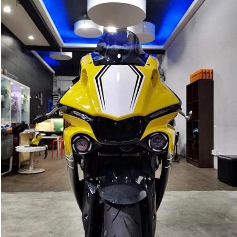 Yamaha YZF-R3 V1 V2改全套R1車殼