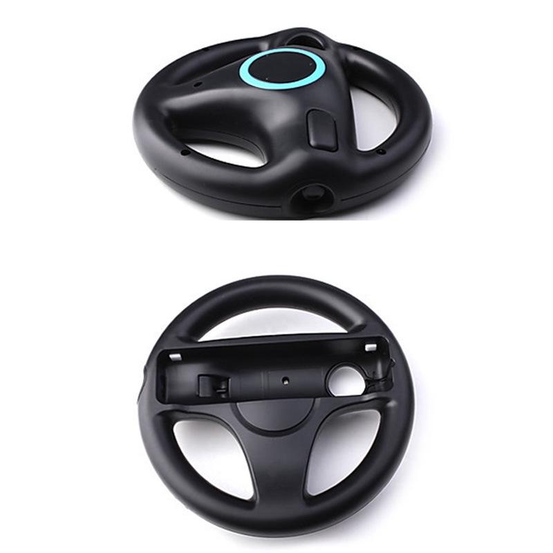 WII主機遙控器配件 遊戲方向盤 WII方向盤 wii遊戲配件 完美匹配 360度轉向强化遊戲視覺 體感感應靈敏
