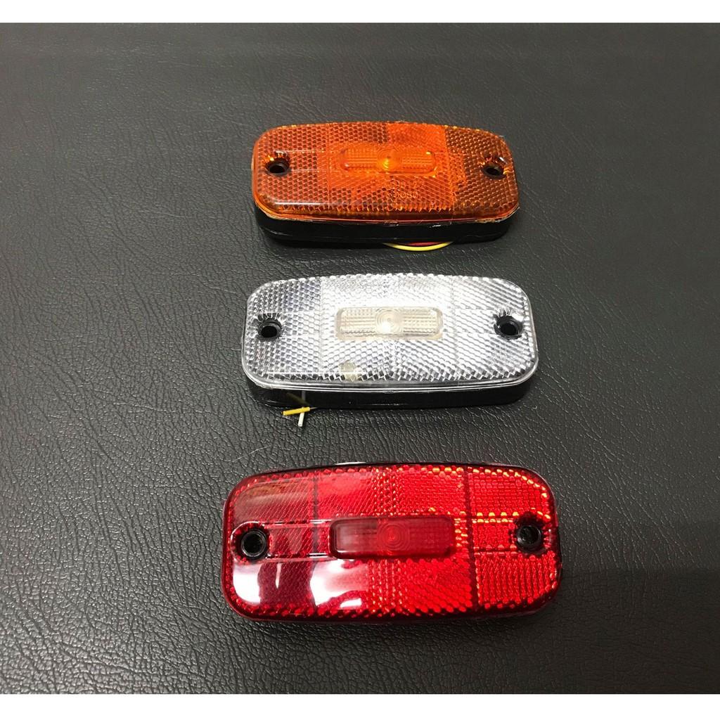 Ko Ma 24V 5粒LED 邊燈 大燈 後燈 角燈 方向燈 屋頂燈 標識燈 遊覽車 巴士 公車 貨車 吊車 拖吊車