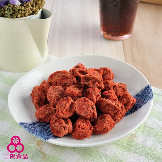 【三陽食品】紅話梅 (純素蜜餞) (500g)
