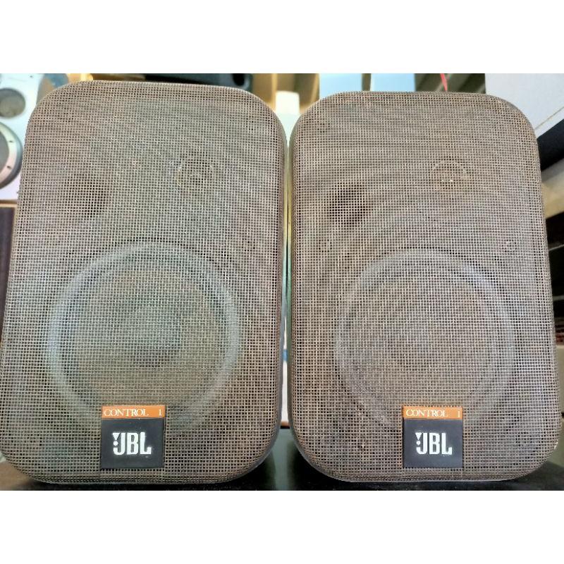 【美國JBL】Control 1X 二音路適用 商用空間 展場 居家 喇叭