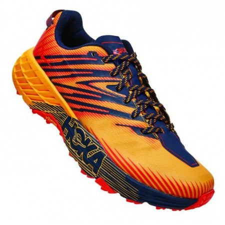 Hoka | Speedgoat 4 for Men (Gold Fusion) 越野跑鞋 運動鞋