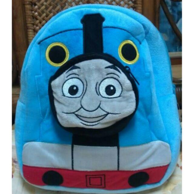 ★阿肥の家☆正版授權 湯瑪士小火車 絨毛系列 後背包 旅遊包 小朋友的最愛