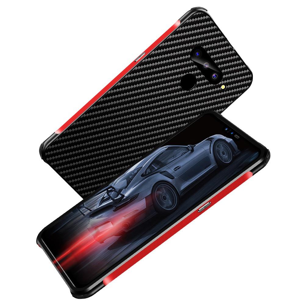 【碳纖維】LGv50手機殼LGv40 G7 G8手機保護套LG G7金屬殼2合1推拉款新品炫酷配色時尚風LG手機保護殼