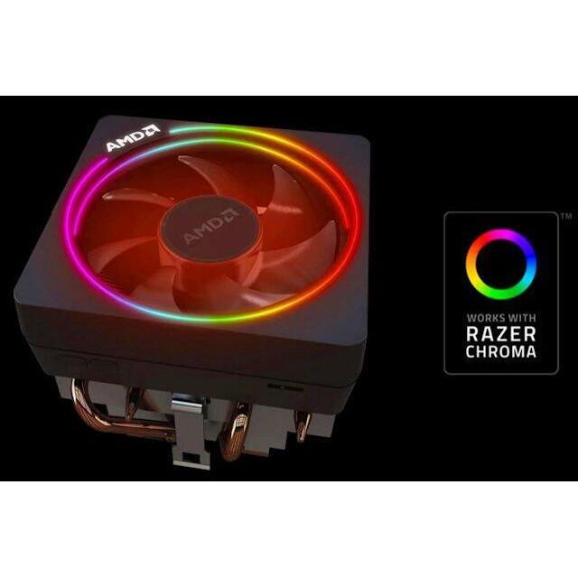 全新原廠AMD Wraith Prism RGB風扇 R7 3700X R9 3900X