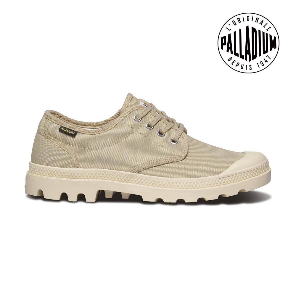 Palladium Pampa OX ORIGINALE男鞋-卡其