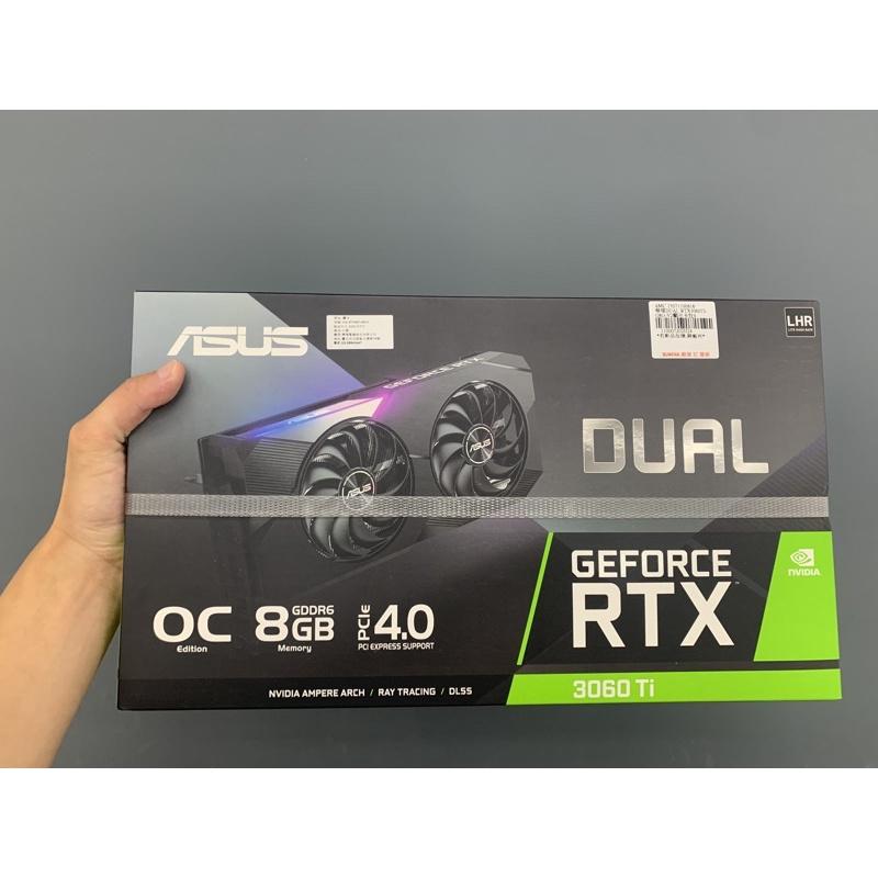 全新 華碩 ASUS DUAL-RTX3060TI-O8G-V2 顯示卡 RTX 3060 TI 3070 3080參考