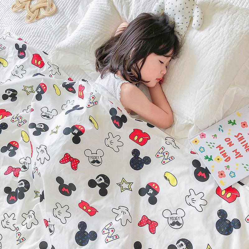 嬰兒毯子安撫春秋小毛毯寶寶幼兒園豆豆毯四季空調被子兒童被蓋毯法蘭絨毯子 被子 雙人被 暖毯 寶寶毯 冷氣毯薄