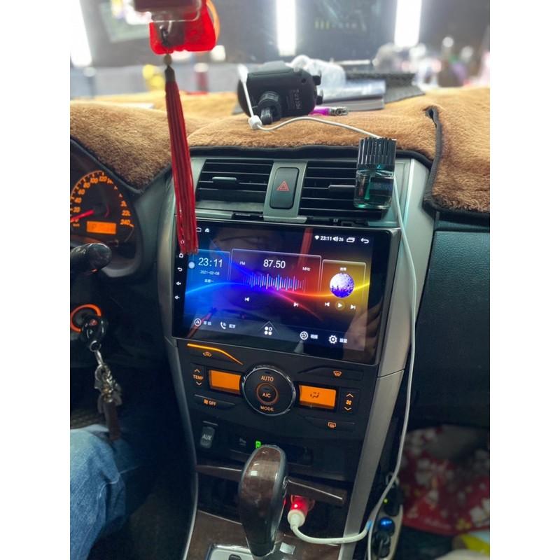 Toyota Altis 10.5代 Carplay+android汽車主機