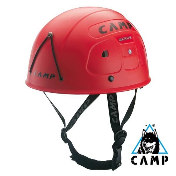 義大利CAMP-Rock Star頭盔CA202紅(登山屋)