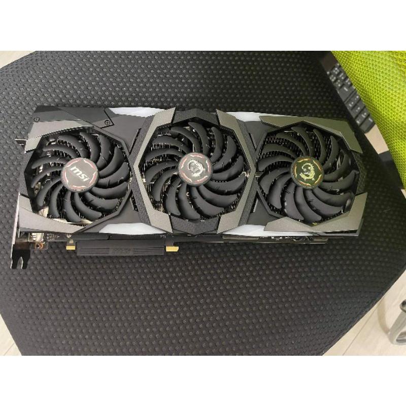 (高雄可面交)魔龍頂規MSI GeForce RTX 2070 SUPER™ GAMING X TRIO三風扇