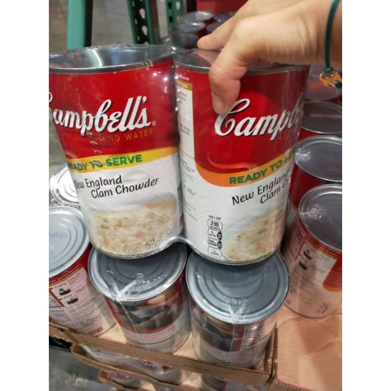 代購☀️Costco好市多 CAMPBELL'S新英倫蛤蜊濃湯 2入☀️