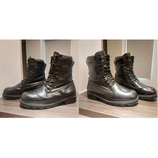 Bonni's『 帥氣生活』~ARMY FORCE 軍威 傘兵靴 8111 全真皮高筒軍靴 防水 防風 黑靴 歲末大降價