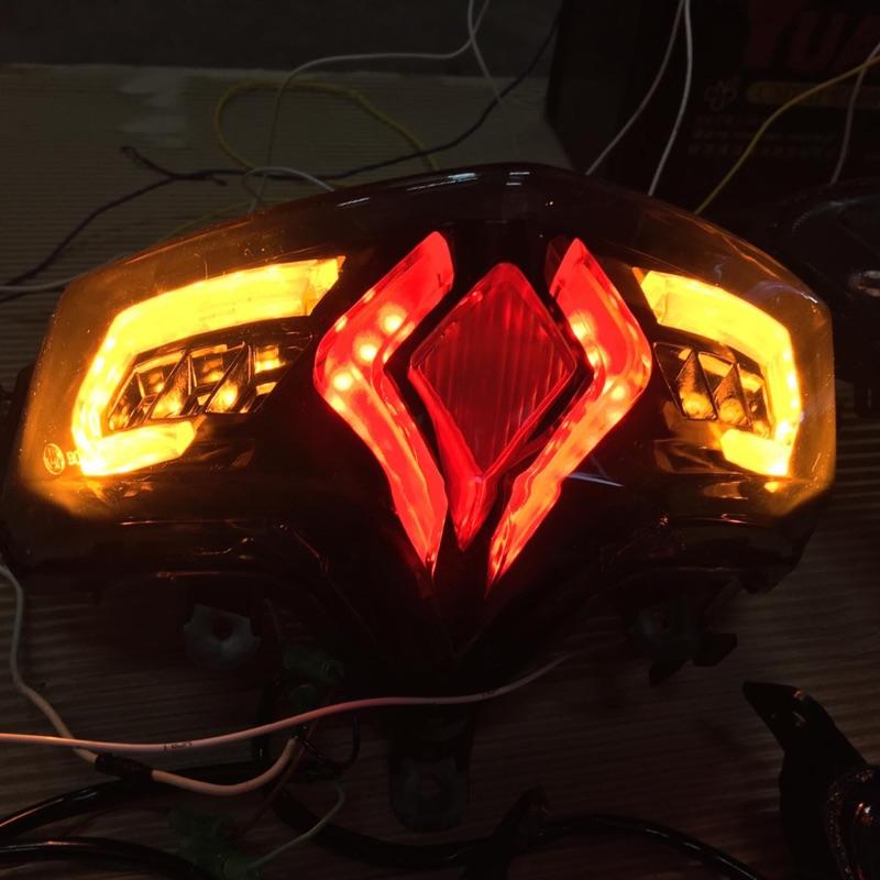Smax 燈之匠 尾燈 小踢媽 整合式 鮑魚燈 燈 方向燈
