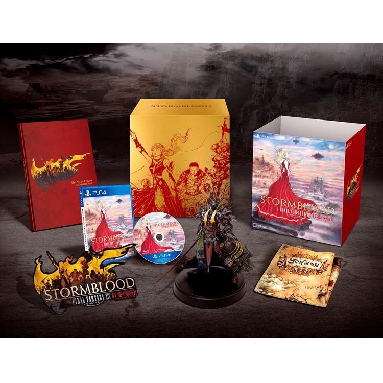 [JBS]日版PS4全新未拆封 Final Fantasy XIV太空戰士14:紅蓮的解放者 典藏特典版現貨出清特價