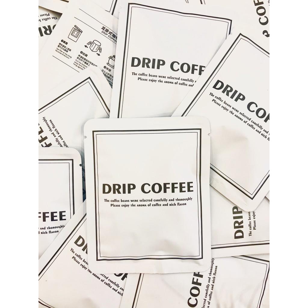 (下單才製作) 獵豆工坊🐆 嚴選 掛耳咖啡 耶加雪菲 白茉璃月 水洗G1  掛耳50包/袋 每包12克