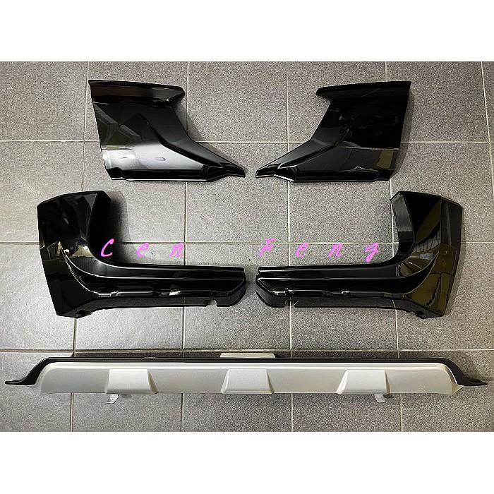 涔峰CF☆(黑)HONDA CR-V 5.5代 CRV 5.5代 空力套件 前包角 後包角 後下巴 類MODULO