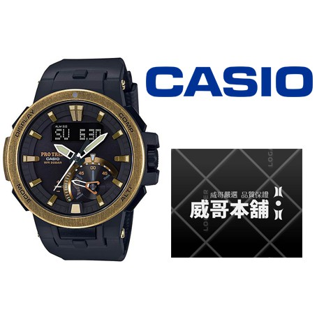 【威哥本舖】Casio台灣原廠公司貨 PRW-7000V-1 太陽能專業登山電波錶 PRW-7000V