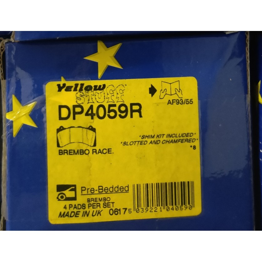EBC 黃皮 來令片 剎車皮 brembo GT6 D48 DP4059R