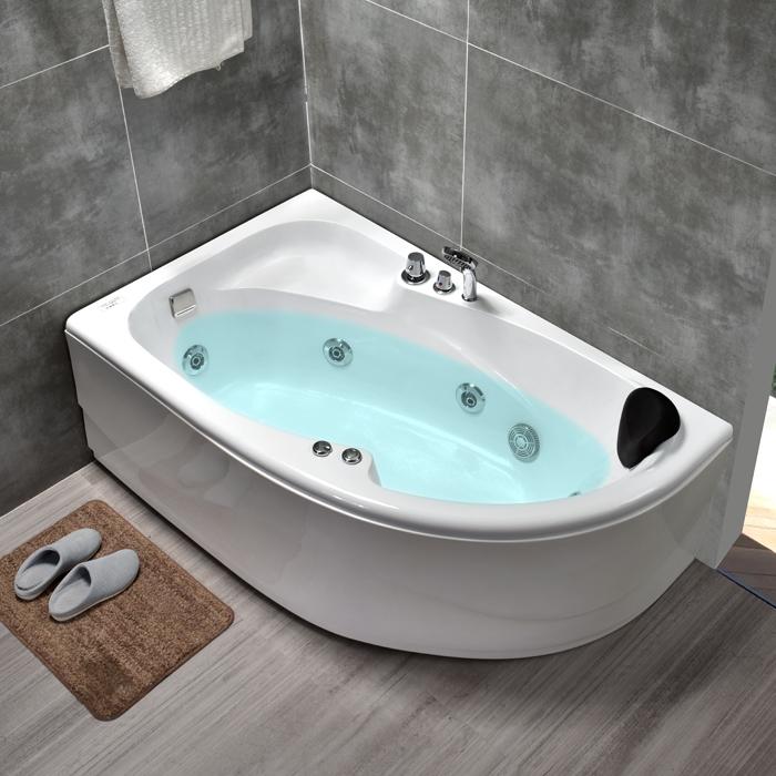 【新房必買清單】亞克力浴缸家用成人情侶獨立式浴池1.2-1.7米小戶型衝浪按摩浴缸