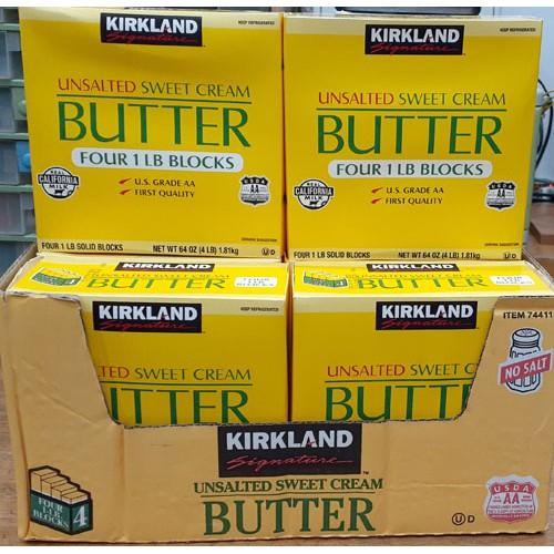 特價359元BUTTER無鹽奶油塊(453gx4條) 運費150元COSTCO好市多代購