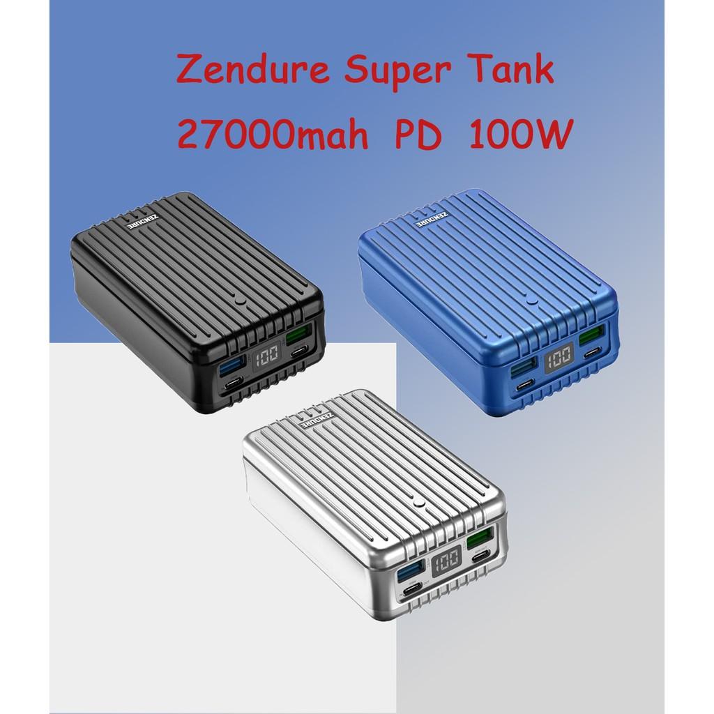 【正品現貨】免運 原廠保固Zendure Super Tank 100W 27000mAh PD 快充行動電源 PD