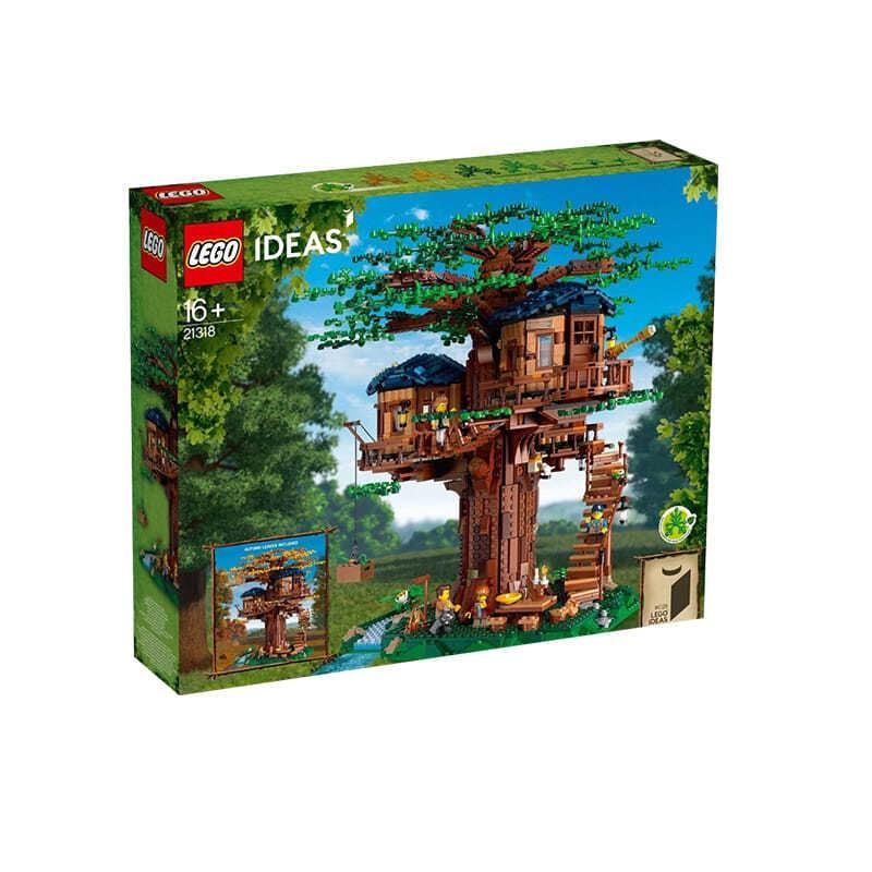 ⚡『特惠』👉LEGO樂高21318創意樹屋正品 兒童學生益智積木玩具 男孩女孩禮物