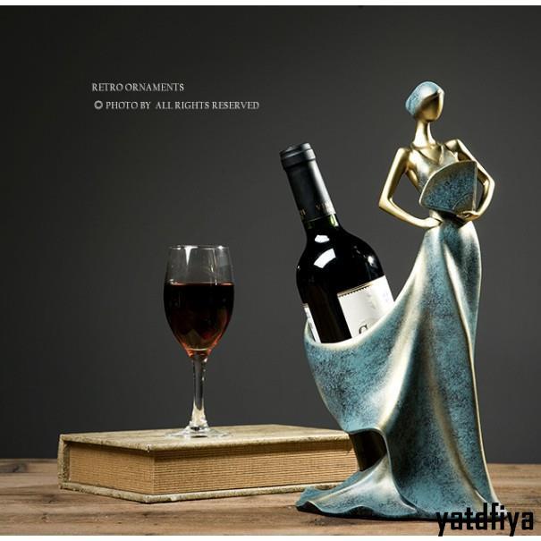 【佳佳優品】北歐美式紅酒架家居客廳酒櫃軟裝飾品擺件工藝品擺設喬遷創意禮物