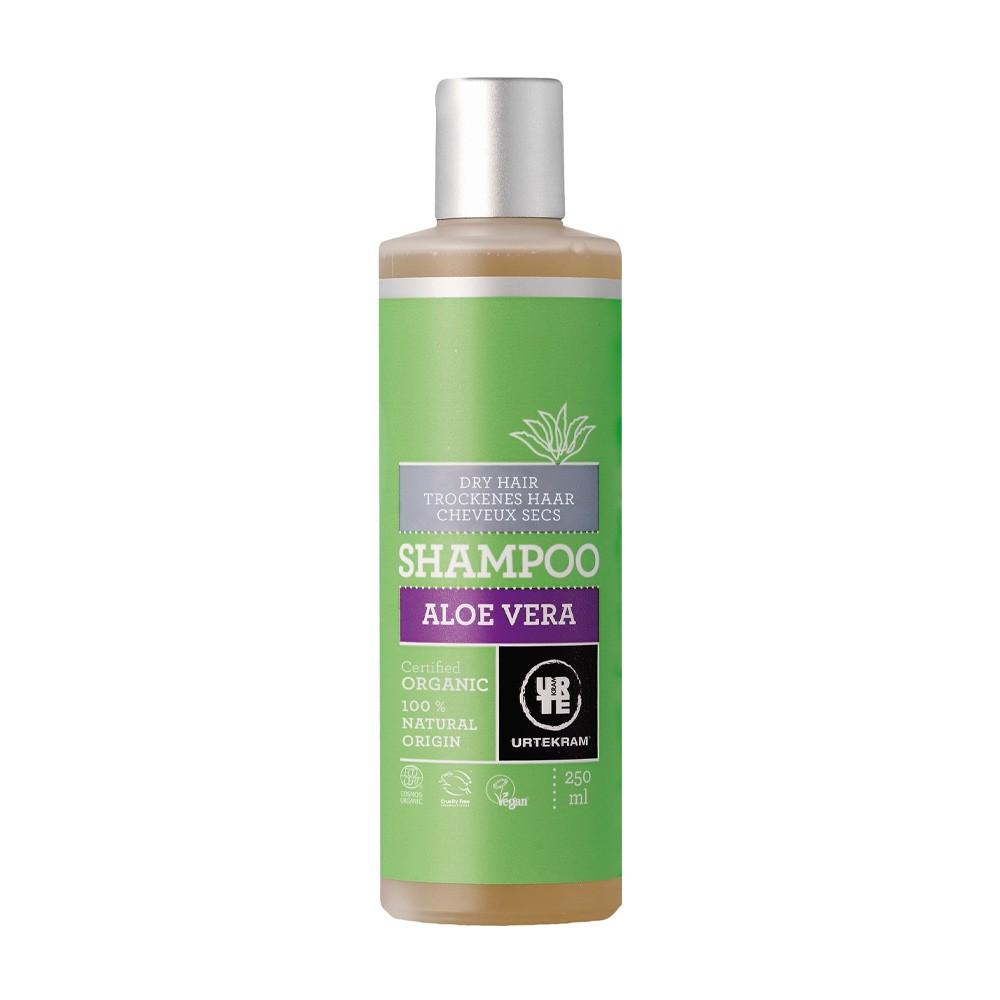 丹麥 Urtekram 亞堤克蘭 蘆薈乾性修護洗髮精 250ml (UK105)