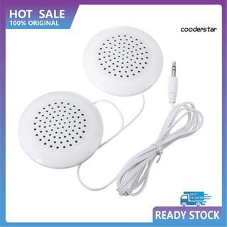 Cood-E 3.5mm喇叭 迷你喇叭 隨身喇叭 雙揚聲器 枕頭播放器 手機 音樂