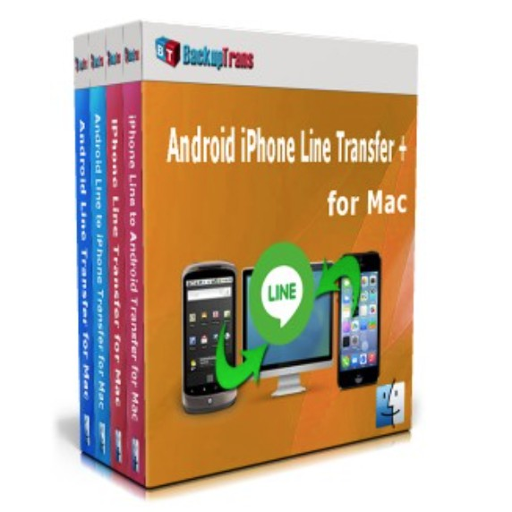Backuptrans Android iPhone Line Transfer [line轉移] MAC版2次授權