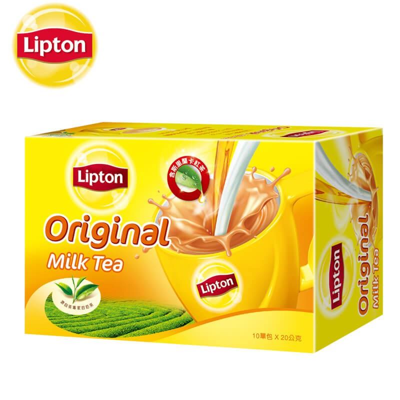 立頓 奶茶粉原味盒裝 10X20g