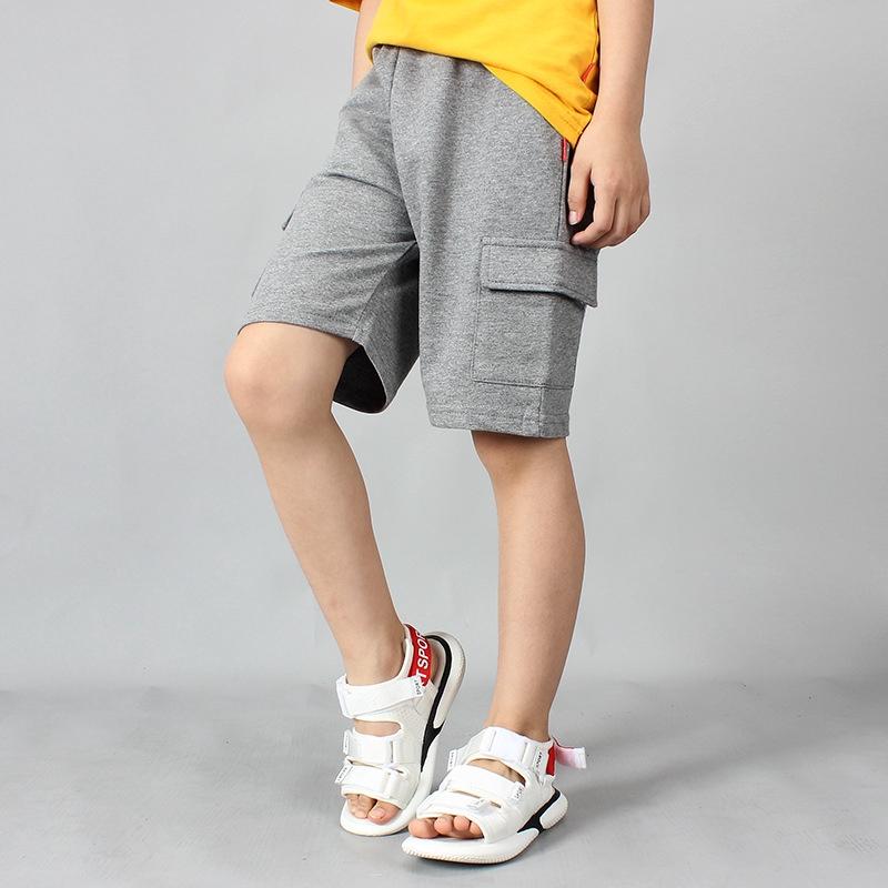 中大童裤子 童褲韓版夏季新款男童休閑五分褲 學生純棉工裝短褲兒童褲子