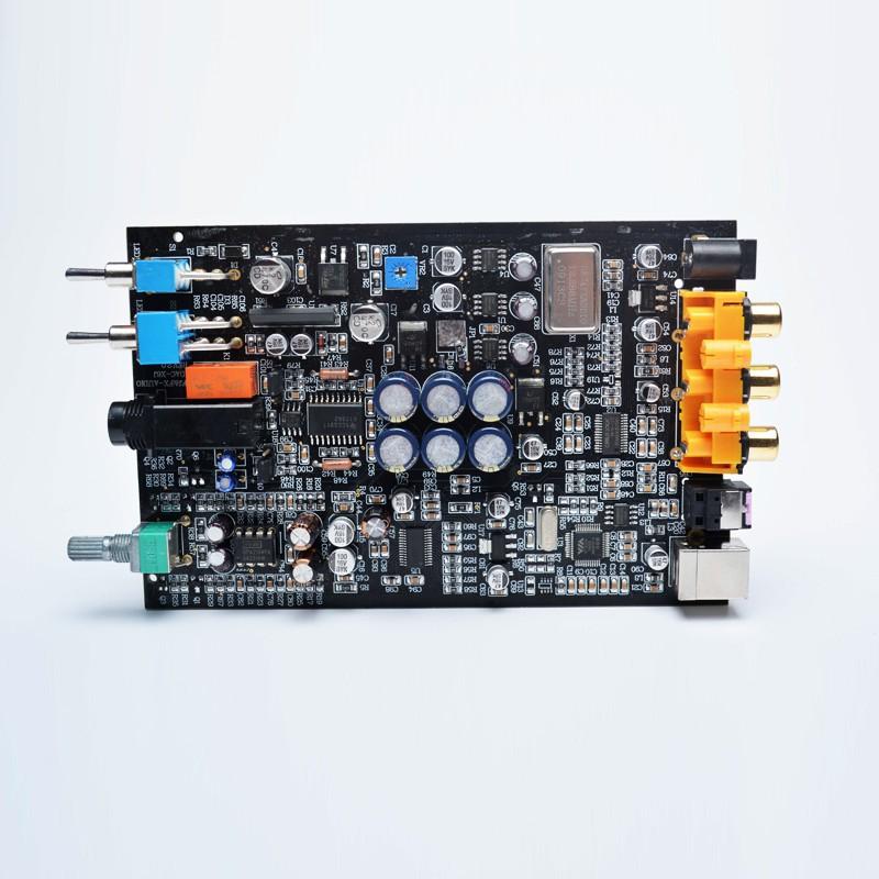 ◑☞✸FX-AUDIO DAC-X6 光纖同軸USB解碼耳放一體 DAC 解碼器24BIT/192耳擴