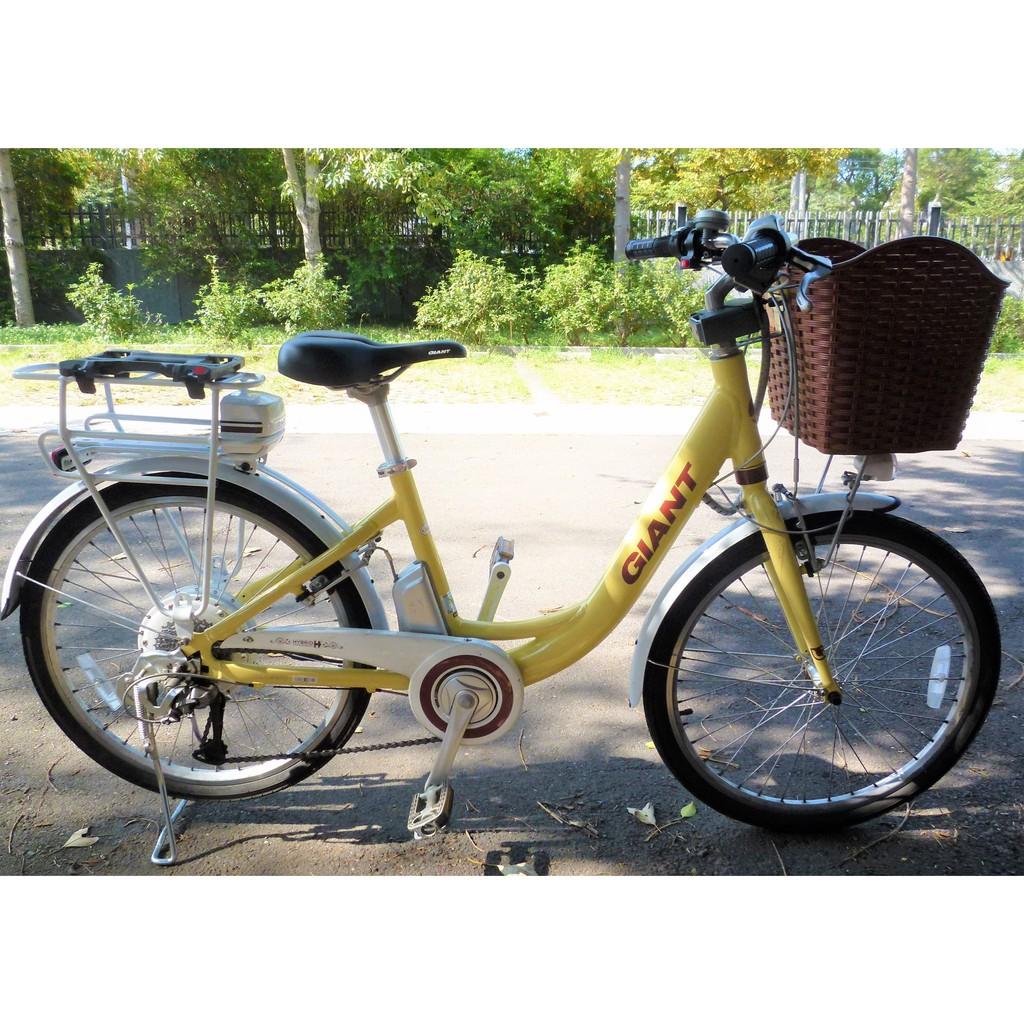 捷安特 Giant 電動腳踏車 電動自行車 EA401 二手 歡迎賞車 (限自取)
