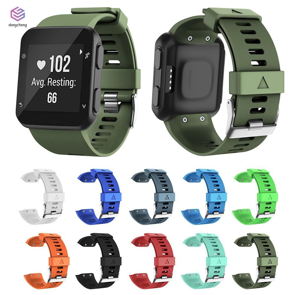 矽膠錶帶錶帶手鍊+ Garmin先行者35工具螺絲