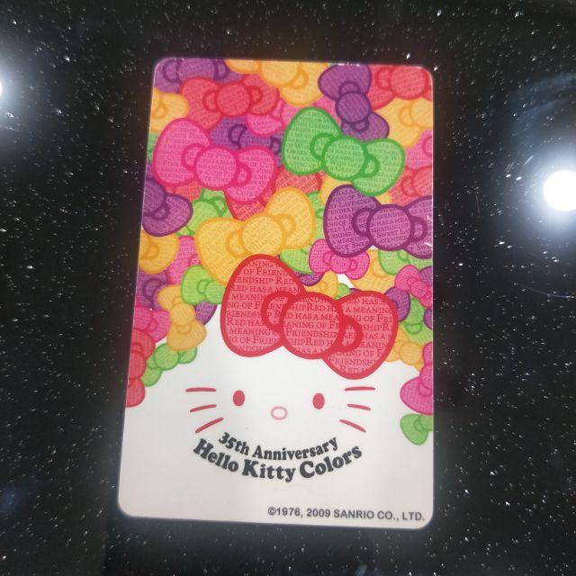 Hello Kitty 35週年 悠遊卡 特製版