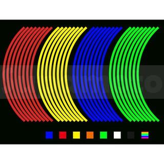 -Supamoto- 14吋 12吋 10吋 反光 輪框貼 輪貼 防水 輪框 輪圈 鋁框 鋁圈 18吋 17吋 16吋 台南市