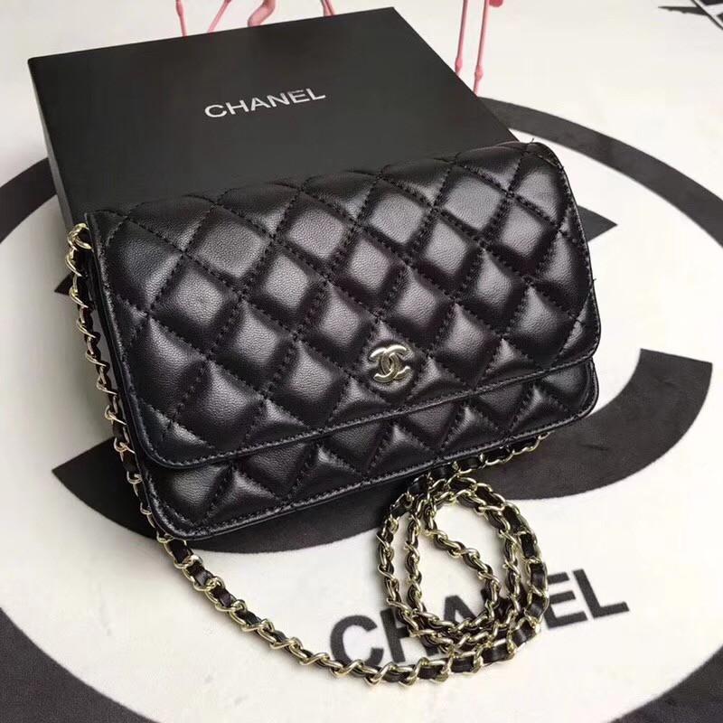 5450d3015836 壹號店【MS】代購現貨Chanel 香奈兒67086羊皮閃亮登場!非常靚麗非常豪華的感覺!潮流| 蝦皮購物