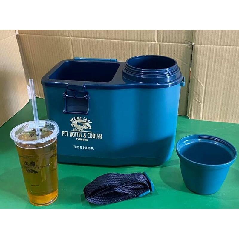 Toshiba TWINBIRD 保冷桶 冰桶 露營 野營 釣魚 外出郊遊方便使用 附提繩 二手