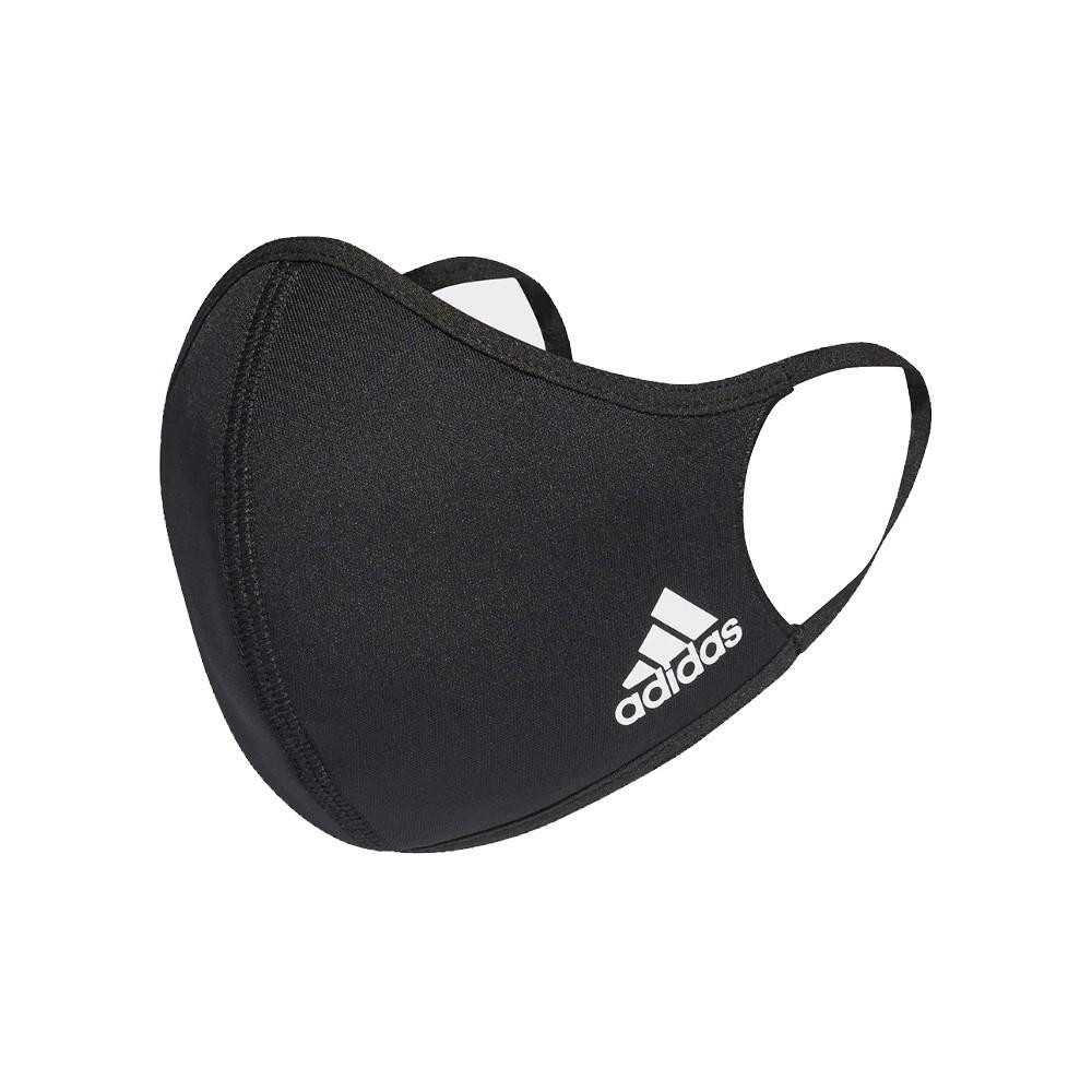 ADIDAS 口罩 三入裝 男/女 非醫療 彈力繞耳設計 黑色  H08837
