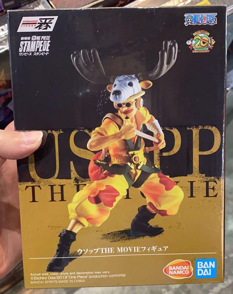 【強襲模玩】萬代一番賞海賊王航海王劇場版烏索普