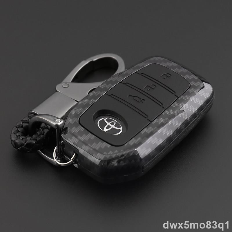 【汽機車零件】TOYOTA車系鑰匙包 豐田 TOYOTA camry rav4 altis sienta yaris 碳