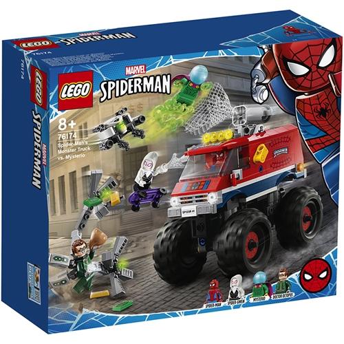 LEGO 樂高 LT76174 蜘蛛人的怪獸卡車vs神秘客_Super Heroes超級英雄