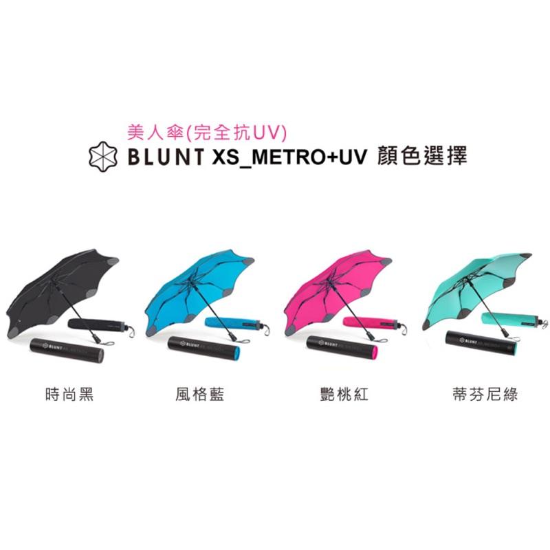 【angel 精品館 】紐西蘭BLUNT XS_METRO +完全抗UV美人自動折傘 X02系列